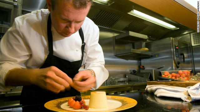 A superyacht chef's day will normally begin at 6am, preparing meals for around 12 guests and eight crew members on a vessel up to 60 meters long.