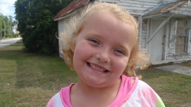 Alana Thompson a.k.a. Honey Boo Boo joined her family for an episode of