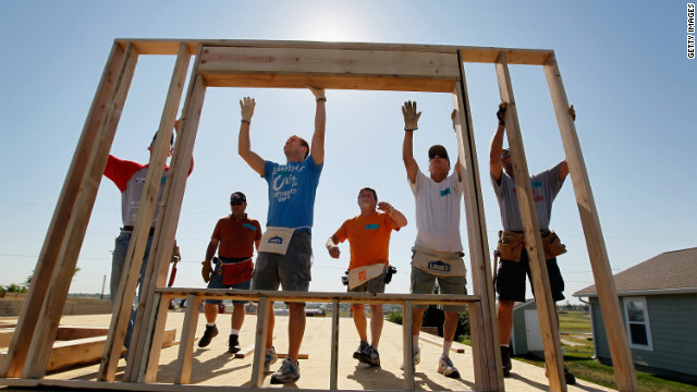 There are almost 1.5 million nonprofit organizations in the country, including Habitat for Humanity.