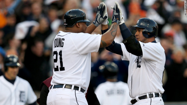 Tigers sweep Yankees, head to World Series