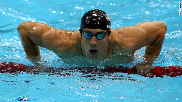 "In need of some body inspiration (or eye candy)? Men's Health magazine has identified the ""100 Fittest Men of All Time."" Here are the top 10, starting with swimmer Michael Phelps. At 27, the Olympian has a record 22 medals."