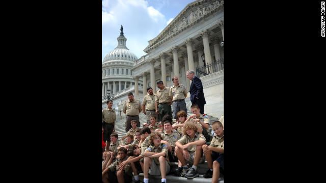 206: Number of lawmakers in the current session of Congress that have participated in Boy Scouts. Fifteen current governors were Scouts or Scout volunteers.
