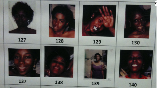 Numerous victims in the Grim Sleeper killings remain unidentified. The suspect had many photos in his apartment, police say.