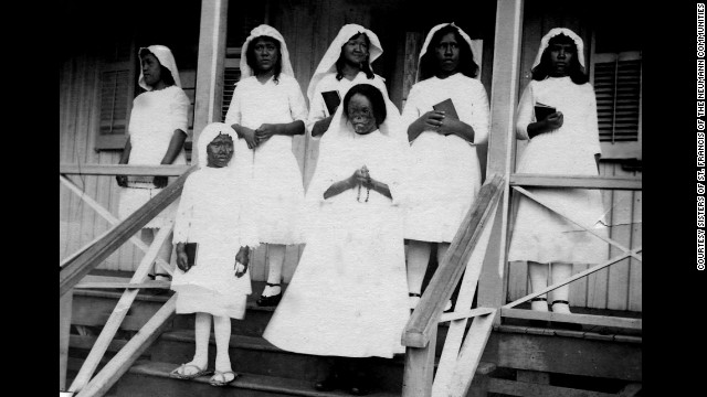 Hansen's disease patients often lived a long life, but their daily needs were often neglected when they were banished. The sisters' arrival on Molokai brought the girls lessons in traditional education subjects and religious training, including giving the girls a proper first communion ceremony.