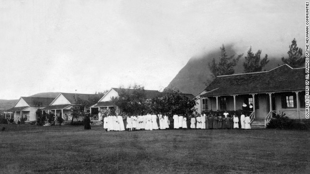 Prior to the sisters' arrival in Molokai, patients lived in ramshackle huts. Mother Marianne and the religious sisters were able to raise the money to build proper buildings for patients and give them beds instead of the straw mats they slept on.