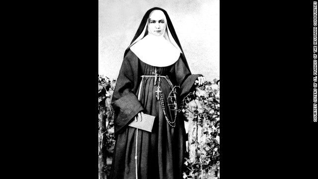 In 1883 Mother Marianne Cope and five other sisters volunteered to travel to Hawaii to work with people afflicted with Hansen's disease. The disease, then known as leprosy, was so feared they were the only religious congregation to respond to a request for help. Mother Marianne wrote &quot;I am not afraid of any disease.&quot; To this day none of the sisters has gotten sick.