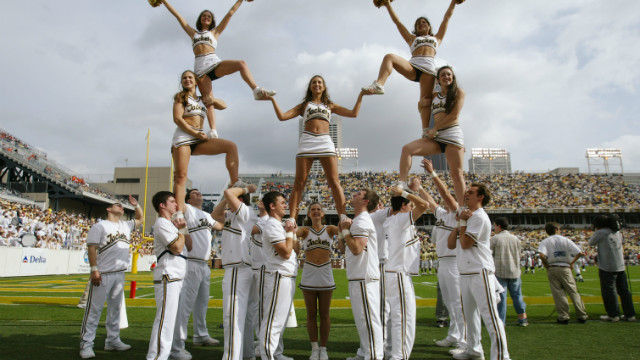 Doctors make recommendations for safe cheerleading