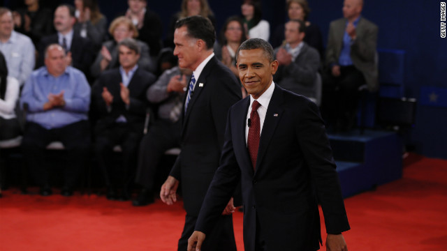 Obama mentions his now-former presidential rival