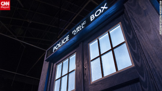 "After watching ""The Christmas Invasion"" episode of the television show ""Doctor Who,"" iReporter Veronica Caterina Ielo says she was completely hooked. It wasn't long before she was saying allons-y and taking a trip to Cardiff for the <a href='http://www.doctorwhoexperience.com/' target='_blank'>Doctor Who Experience</a>. ""It was 100 percent a nerd pilgrimage,"" she said. ""It was pure fun."" <!-- --> </br><a href='http://ireport.cnn.com/docs/DOC-849840' target='_blank'>Grab your sonic screwdriver and check out more photos on her iReport</a>."