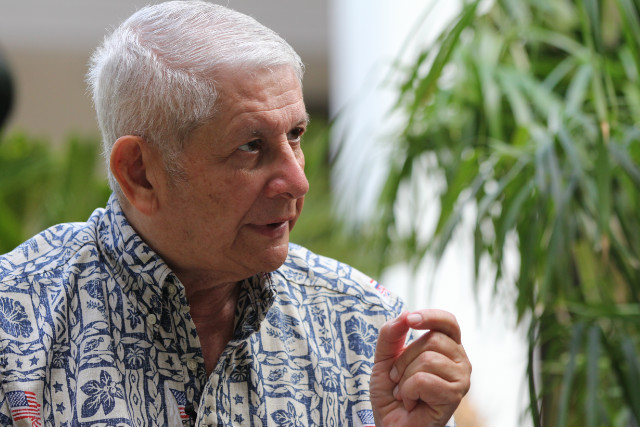 Sam Slom is the only Republican state senator in Hawaii.