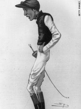 At 178cm, British jockey Fred Archer was one of the tallest on the field in the 19th Century, and struggled to keep his weight down. The strain was partly blamed for his suicide in 1886, aged 29.