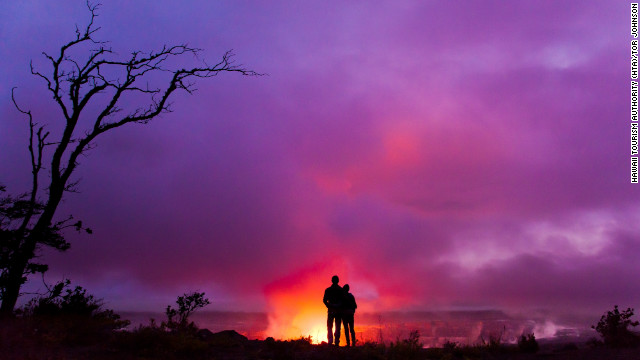The Big Island is the youngest of Hawaii's main islands, and it's still growing. Visitors can see the island in action at Hawaii Volcanoes National Park.