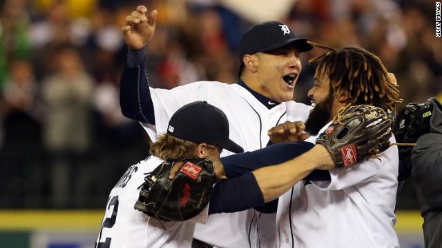 Tigers derrotan a Yankees y avanzan a la Serie Mundial de béisbol