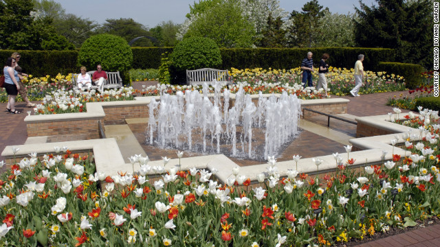 "The Botanic Garden is known for its great size, thanks to its 26 gardens. ""It's kind of monumental,"" said Kris Jarantoski, executive vice president."