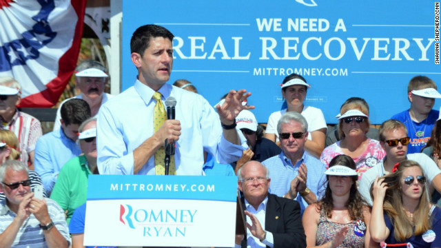 Ryan delivers economy message to women, seniors in Florida