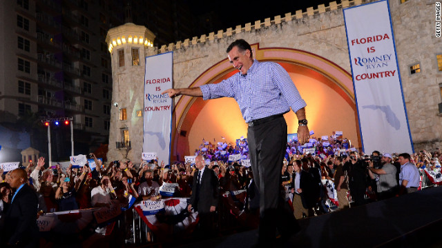 Romney on 'the incredible shrinking campaign'
