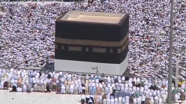 Muslim faithful converge for 2012 Hajj