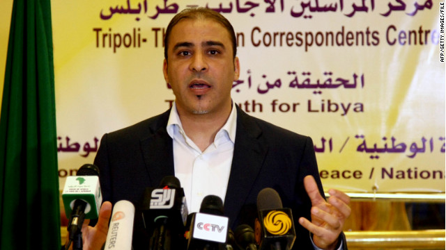 Former Gadhafi spokesman denies capture in Libya