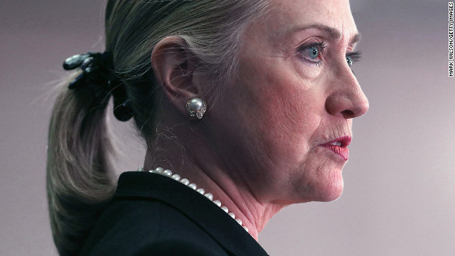 Hillary Clinton tiene el cogulo en la cabeza
