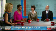 Courting the women's vote