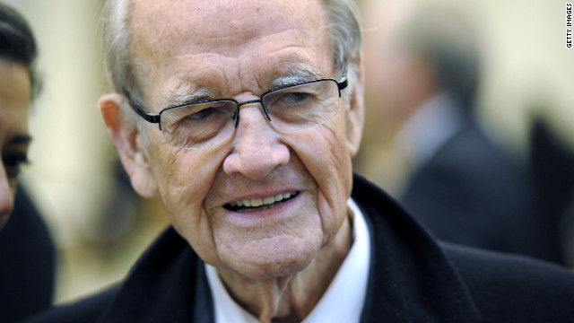 Services for George McGovern set for Friday