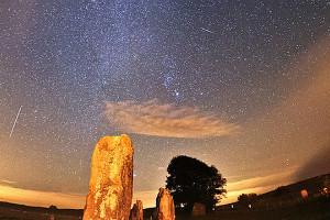 Lluvia de meteoritos Oriónidas