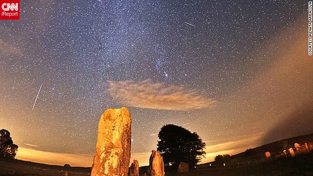 Espectacular lluvia de meteoritos Oriónidas