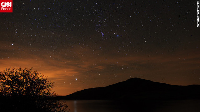 <a href='http://ireport.cnn.com/docs/DOC-861902'>Kevin Lewis</a> stayed up late and braved cold weather just so he could experience the serenity of watching the Orionids from North Wales.