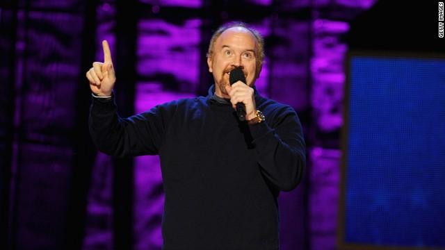 Comedian Louis C.K. will make his debut as a host on