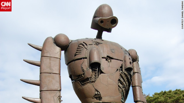 A devoted fan of Ghibli films for 20 years, iReporter Daniel Fandino says he was extremely impressed that the <a href='http://www.ghibli-museum.jp/en/' target='_blank'>Ghibli museum</a> could convey the same sense of wonder as the films to visitors. <!-- --> </br><a href='http://ireport.cnn.com/docs/DOC-862003' target='_blank'>Check out more photos of the Ghibli museum iReport</a>.