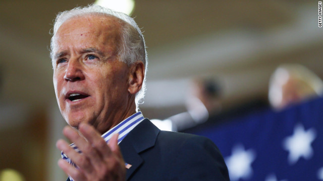 Biden presided over Senate gun vote