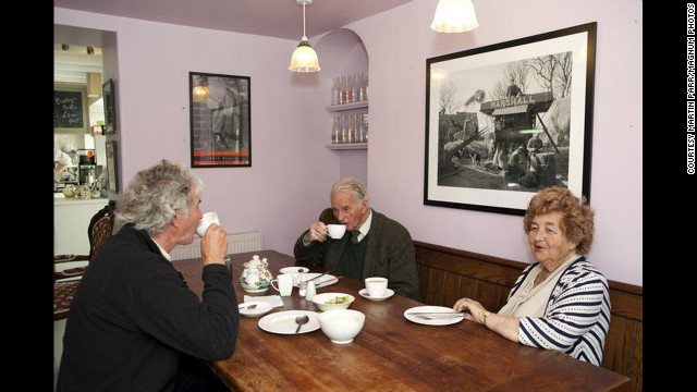 &quot;Greens Cafe, Tynwald, St. Johns, Isle of Man, 2011.&quot; 