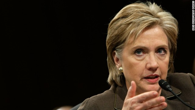 Clinton testifies during her confirmation hearing for secretary of state before the Senate Foreign Relations Committee on Capitol Hill on January 13, 2009, in Washington. 