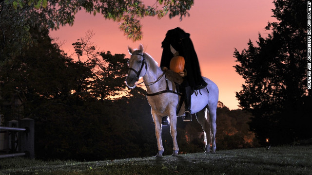 Visitors to Sleepy Hollow, New York, might encounter the town's resident headless horseman.