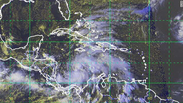 Tropical Storm Sandy has Jamaica in its sights