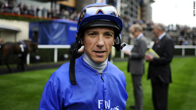 Jockey Frankie Dettori has raced for the Godolphin stable since 1994.
