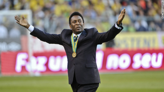 Kick off Pele's birthday with Brazil's national drink