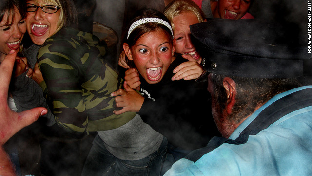"Most Halloween-themed events, such as the UK's Shockertoberfest ""Scream Park"", currently only last for a limited period around the occasion. But Patrick Konopelski of the Haunted Attraction Association says that this could change in future years as experience attractions grow in popularity."