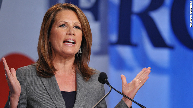 Bachmann wants to 'spank' Obama