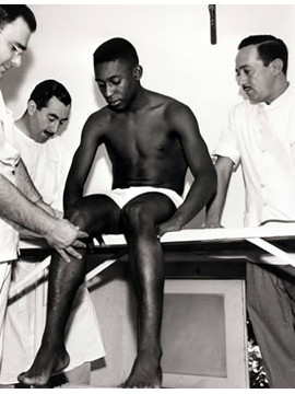 Brazil also won the title in 1962 in Chile, but Pele did not play in the final after being injured in Brazil's second game.
