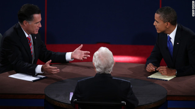 Series of Romney ads use debate footage
