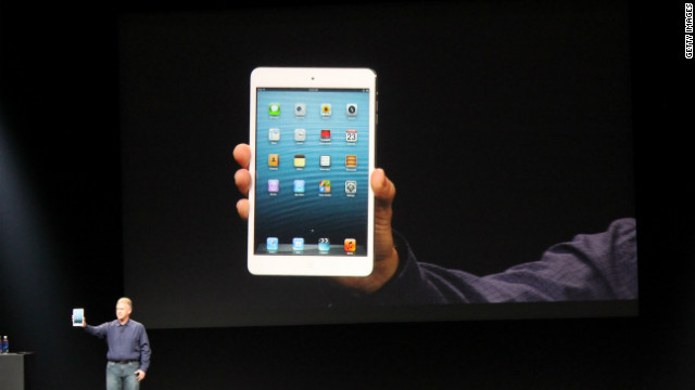 Apple revela al mundo su iPad Mini