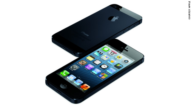 The iPhone 5 looks similar to previous models but has a larger screen and is lighter and thinner than the iPhone 4S. The phone also comes with a faster processor called the Apple A6, which connects to mobile carriers with a 4G LTE connection.