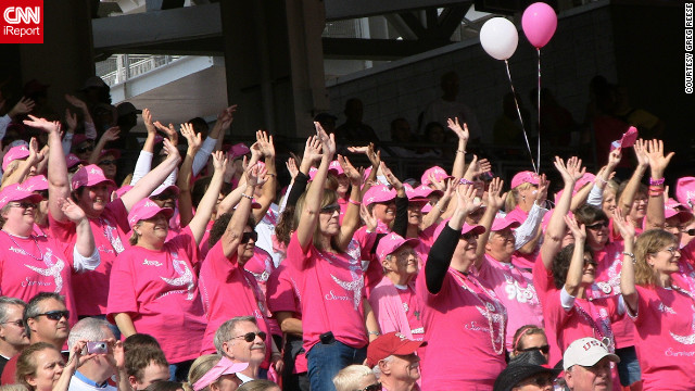 Overheard on CNN: Less pink, more cures for breast cancer