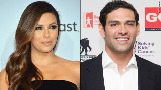 Time out for Eva Longoria and Mark Sanchez?