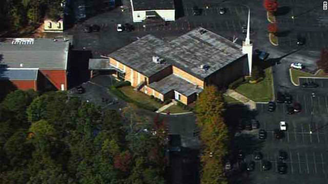 1 killed in shooting at Georgia megachurch