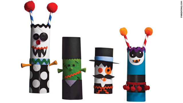 Paper-towel tubes and buttons have never been so terrifying.