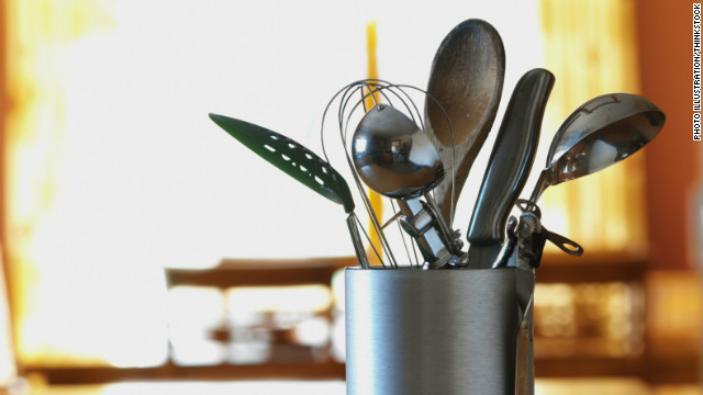<strong>Separate your utensils:</strong> Be careful not to use the same utensils to prepare different foods without first cleaning the utensils. Finally, don't use the same utensils or dishware for both uncooked and cooked food without cleaning them first.