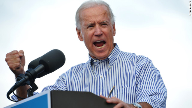Biden quip: Romney 'not going to be elected'