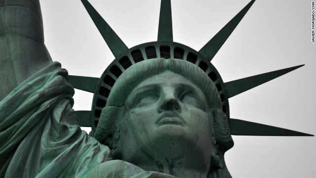 After a year of renovations, the interior of the Statue of Liberty has reopened.